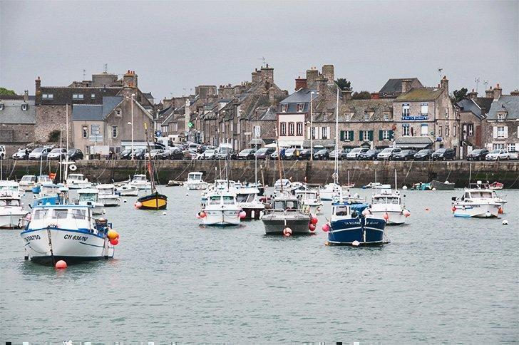 With its distinctive grey stone buildings, Barfleur is unlike other Plus Beaux Villages in Normandy.