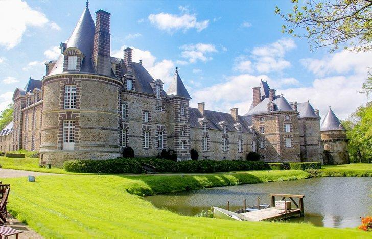 castle hotels in normandy france