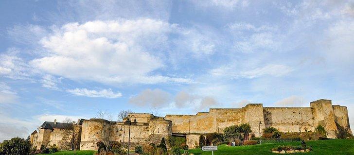 castles in normandy - Caen