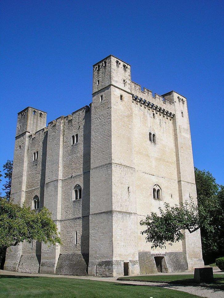 castles in normandy france donjon de chambois