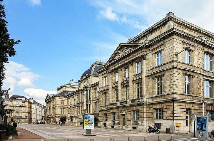 The Fine Arts Museum is one of the fascinating things to see in Rouen France.