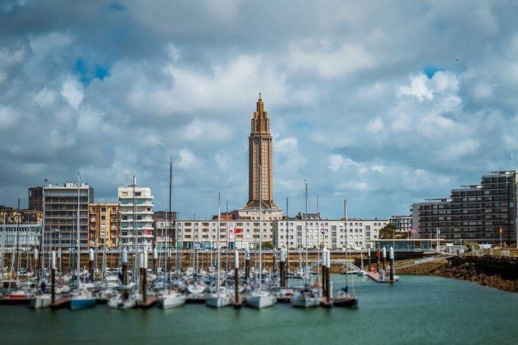 Le Havre in Normandy, France is a marvel of urban planning.