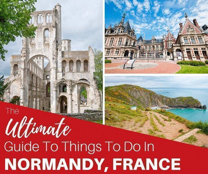 We share all the best things to do in Normandy, France, including the best museums and Normandy beaches, what Normandy foods you have to try, where to stay in Normandy, and much more.