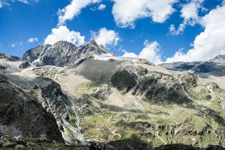 Val d'Hérens one of the stunning valleys in the French Speaking Swiss Alps