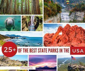 While the National Parks of the USA are famous for awe-inspiring scenery, don't overlook the country's lesser-known State Parks. Catherine shares her picks for 25+ of the Best State Parks in the USA from coast to coast.