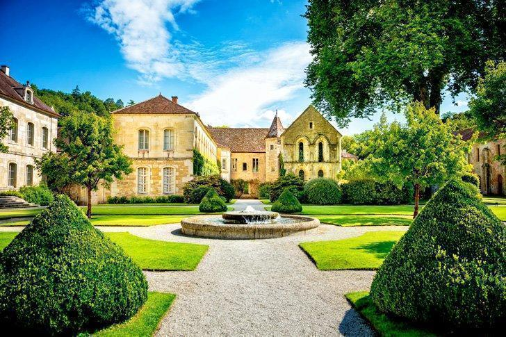 A visit to the UNESCO-Listed Abbaye de Fontenay is one of the top things to do in Burgundy, France