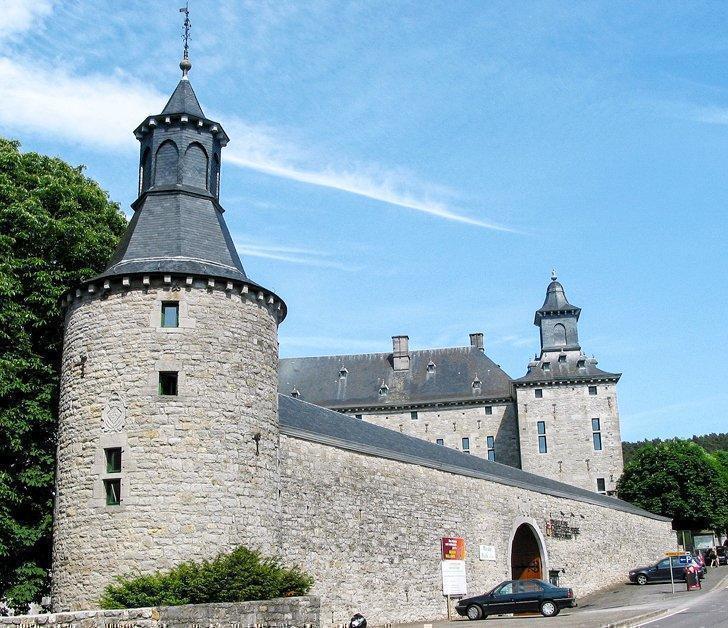 Château de Harzé a castle hotel in the Belgian Ardennes.