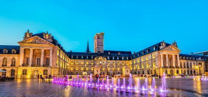 The Musee des Beaux-Arts de Dijon is housed in the former Palace of the Dukes of Burgundy in Dijon, France