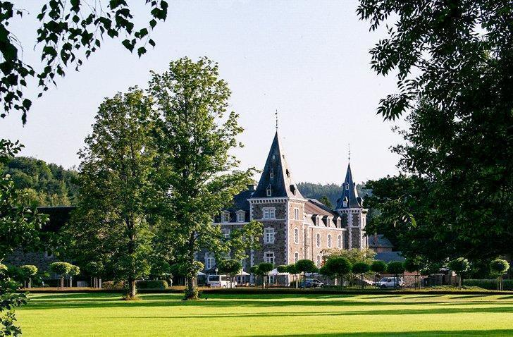 Rendeux castle hotel in Luxembourg province, Belgium