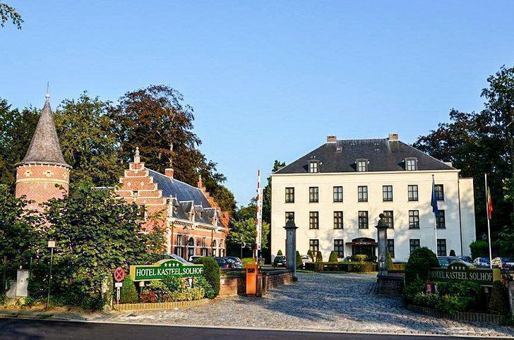 Solhof Castle hotel in Antwerp, Belgium