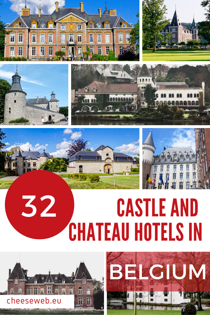 We've compiled a list of 32 castle hotels in Belgium you can book online including a full range of accommodations from 5-star hotels to castles you can rent for family holidays to your dream Belgian wedding castle.