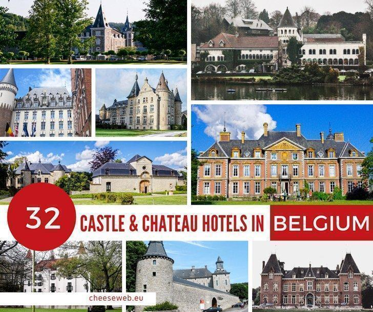 The Ultimate List of Castle Hotels in Belgium