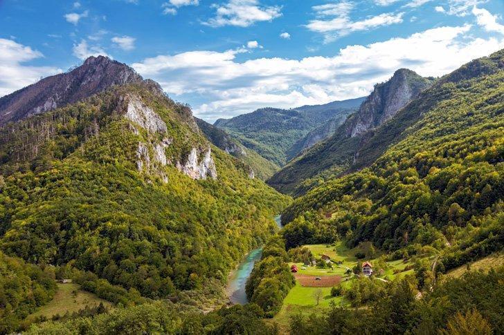 The stunning Tara River Canyon, Montenegro