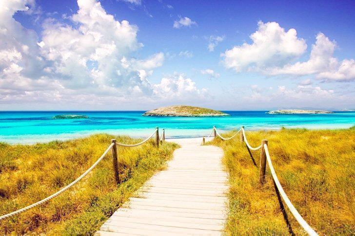 Formentera, Spain tropical islands in europe