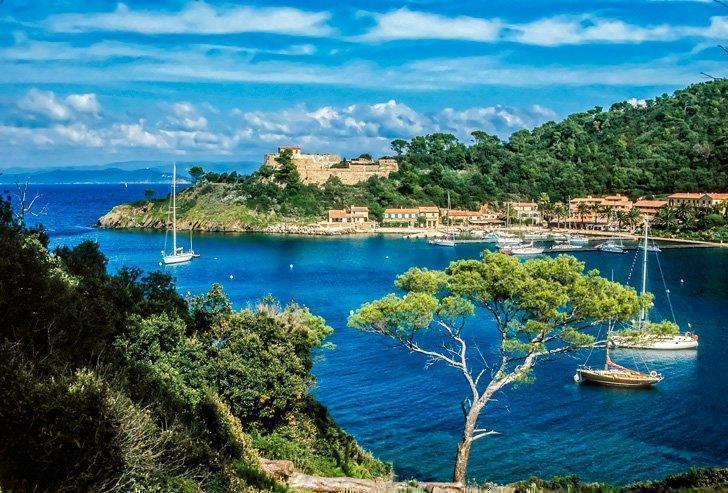 Port Cros, Hyeres Islands, France