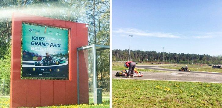 Go-karting in Genk is a fun family activity just a 10 min drive from Terhills Hotel