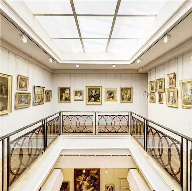 The Musee Magnin is a wonderful art gallery in Dijon, France.