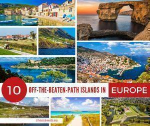 If you think an island holiday in Europe means crowded beaches, overpriced menus, and thumping music, think again. We share 10 of the best off the beaten path islands in Europe to visit to get away from it all.