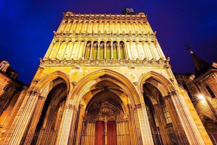 The church of Notre Dame is one of the many beautiful things to see in Dijon, France.