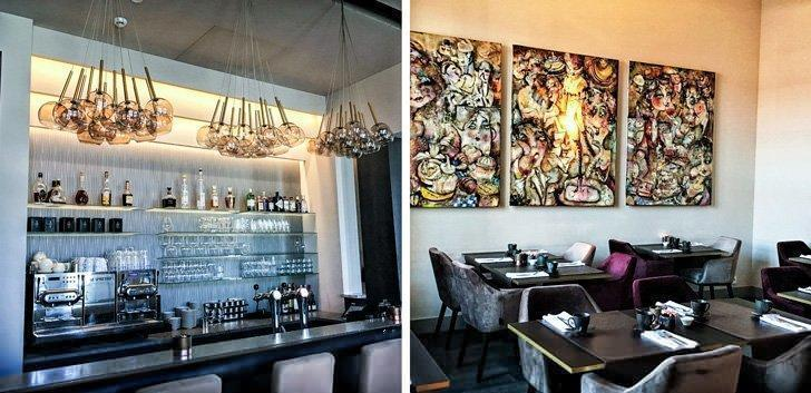 The stylish interior of the Terhills Hotel makes it one of the best places to stay in Maasmechelen.