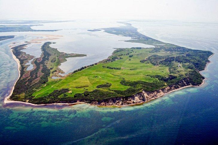 The car-free island of Hiddensee offers an endless stretch of sandy beach to explore.