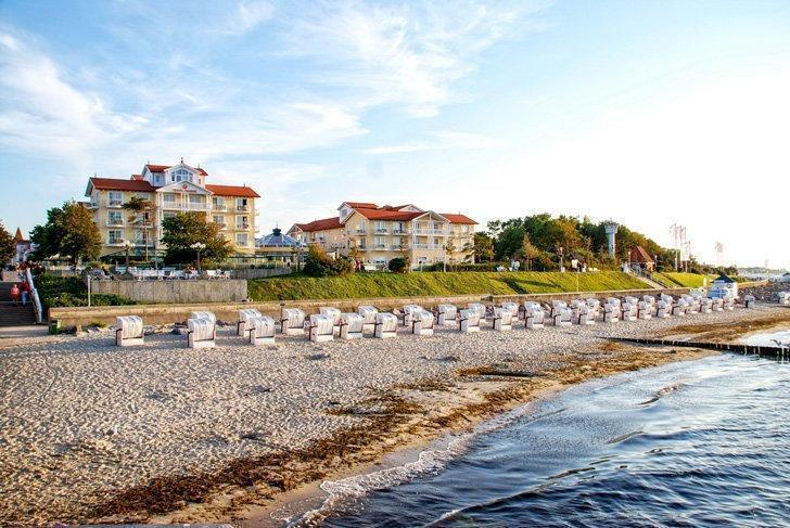 Charming Kühlungsborn is one of the top beaches in Germany.