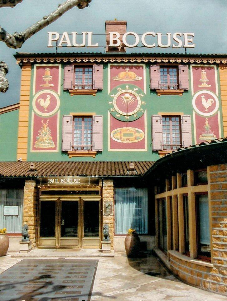 The world famous Restaurant Paul Bocuse in Lyon France.