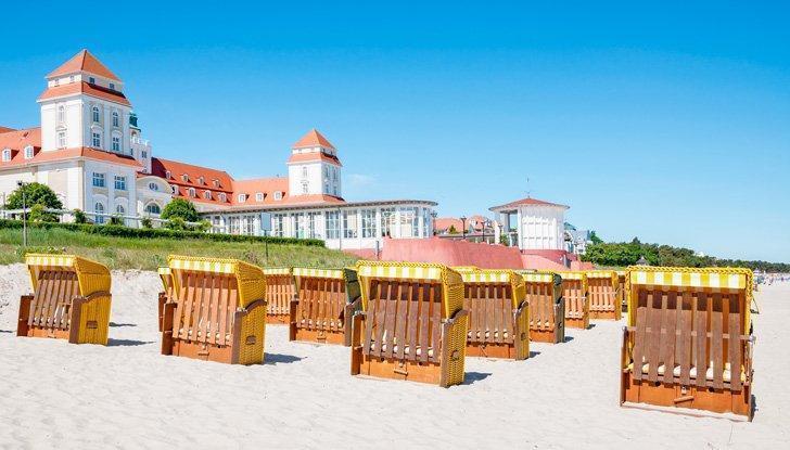 Binz Beach on Rügen island is brimming with Old World charm.