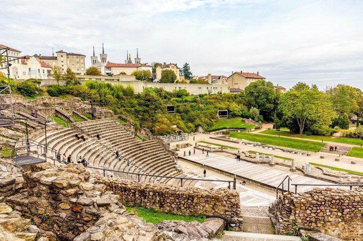 Things to do in lyon France Theatres Romains de Fourviere