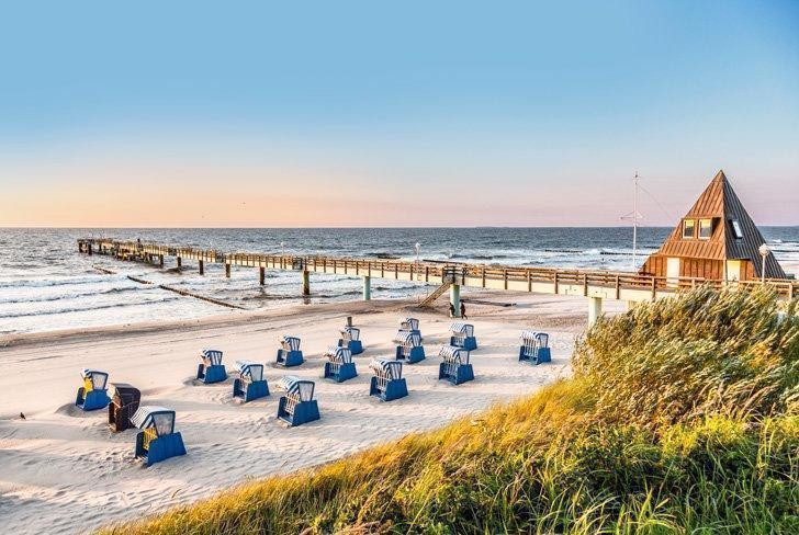 Usedom has some of the best beaches in Germany for a fun-filled holiday