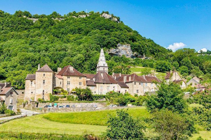 Visit the charming Baume-les-Messieurs village in Jura, France.