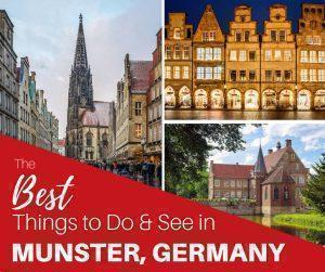 From galleries and museums to historical architecture and even nature, we share all the best things to do in Munster, Germany.