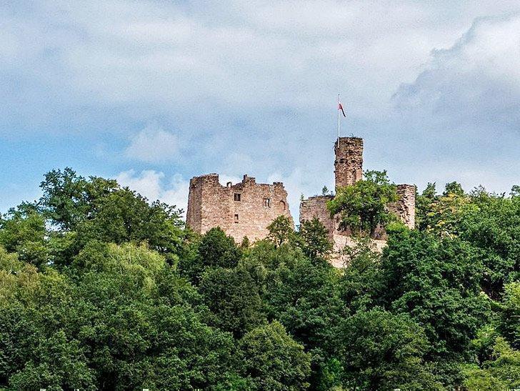Hohenecken Castle near Ramstein Germany