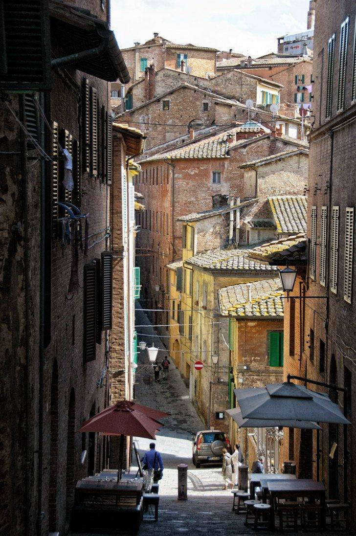 Explore the city's narrow streets to find some of the best restaurants in Siena, Italy