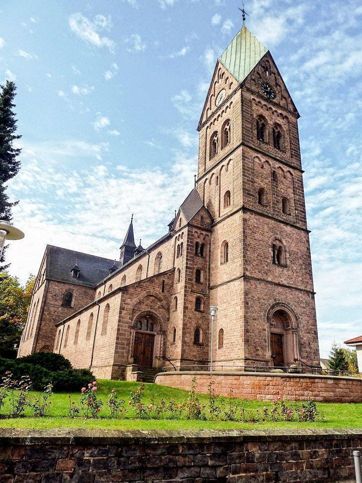 Visiting the Katholische Pfarrkirche St. Nikolaus is one of the things to do in Ramstein, Germany