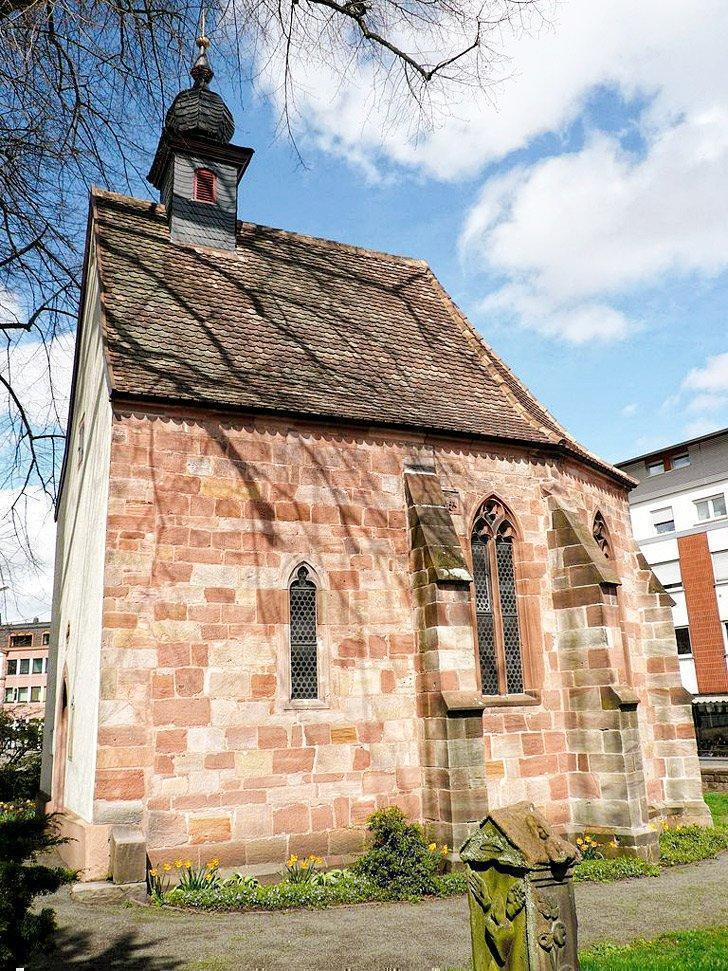 Don't miss the 13th-century Alte Kapelle in Landstuhl, Germany