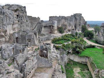 Fortress of Les Baux de Provence.