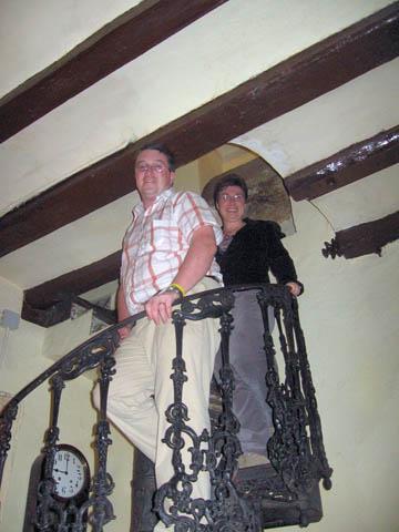 The staircase in the Pla de la Garsa.