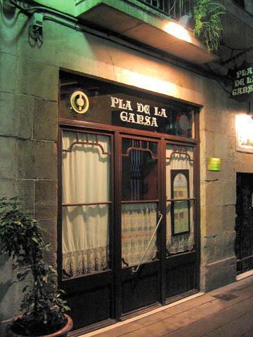 Pla de la Garsa - Not too inviting from the outside...
