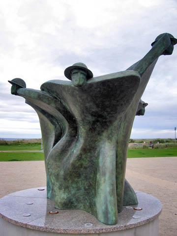 Canadian Memorial at Juno Beach Centre.