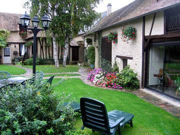 Inner courtyard of Les Granges.