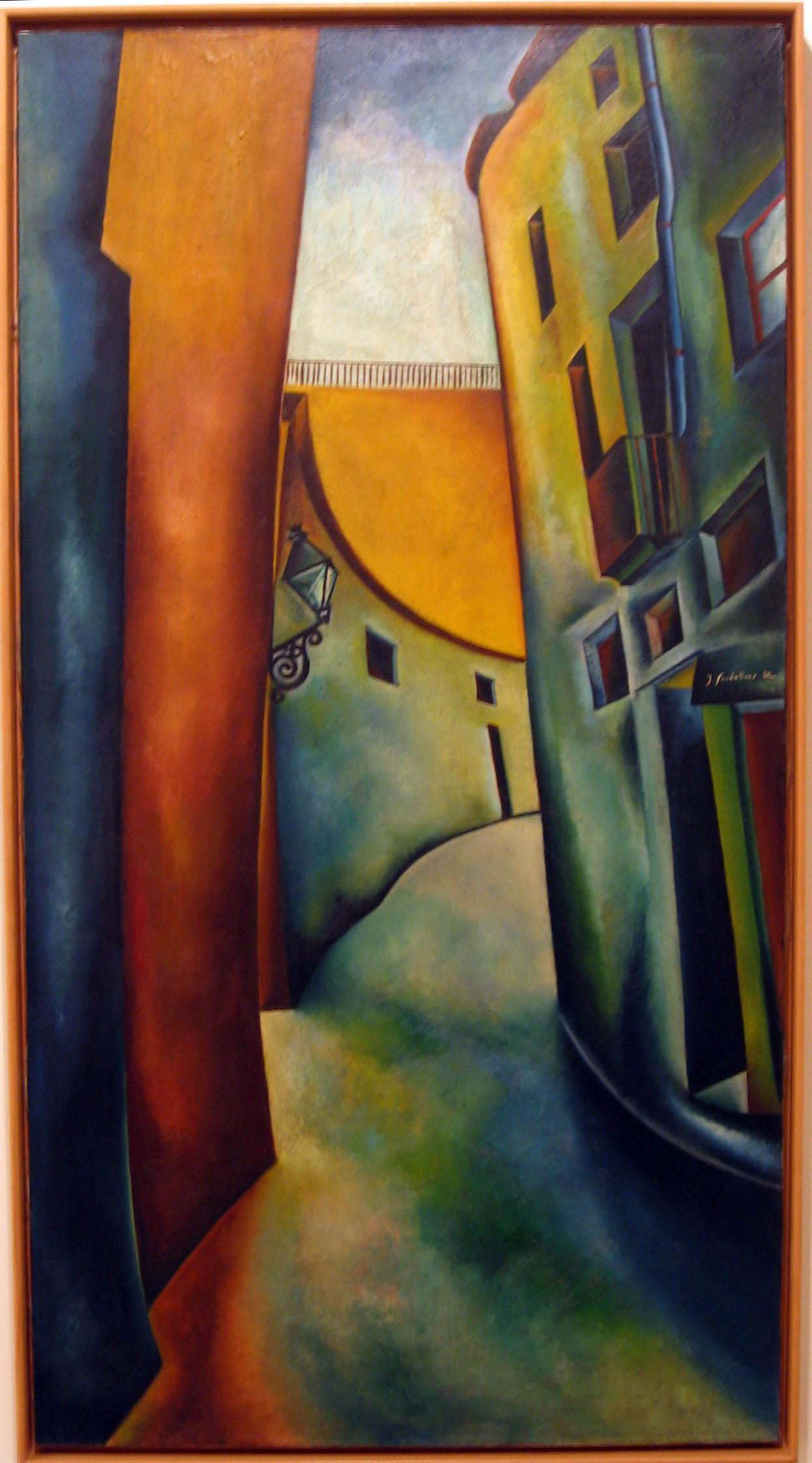 Carrer de les Mosques - 1930 - Joan Sandilinas