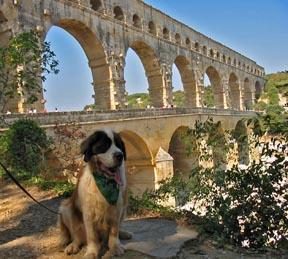 Caesar at Pont du Gard.