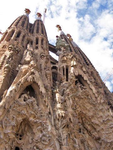 The Segrada Familia